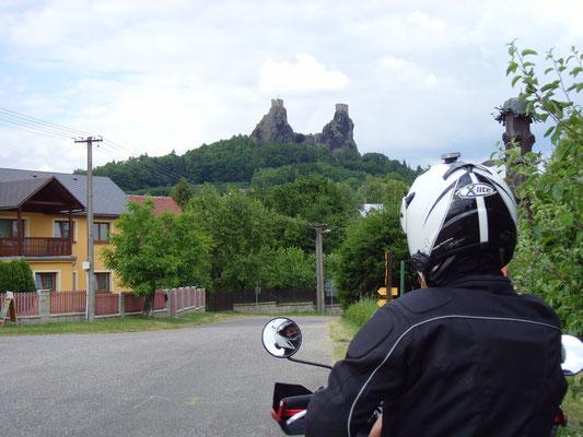 Auf gehts zu der Burg. So fanden wir die tolle Strecke.