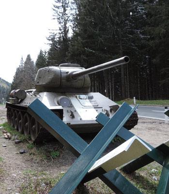An Panzern kann der Marco ja einfach nicht vorbei fahren ;)