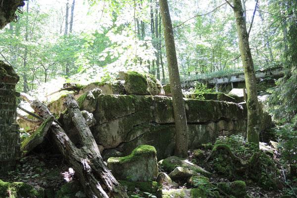Es war fast mystisch durch die alten Ruinen zu schlendern