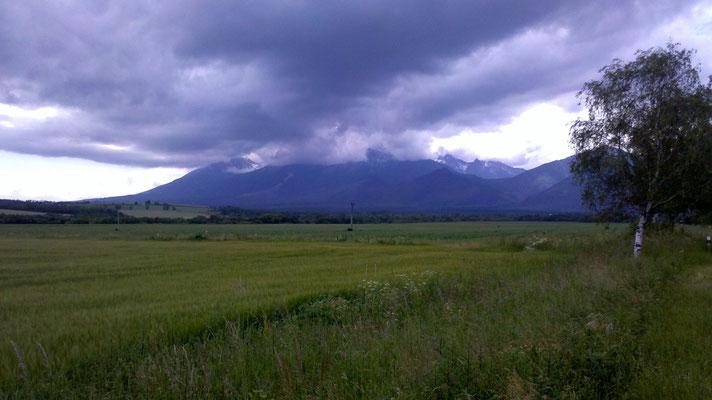 Unser Ziel: Die Hohe Tatra