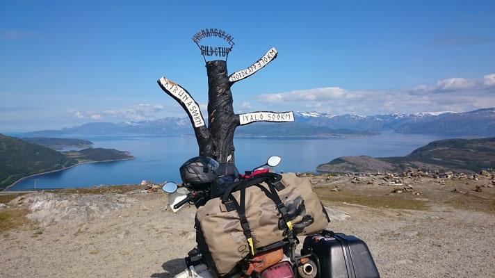 Nur noch 370 km bis zum Nordkapp