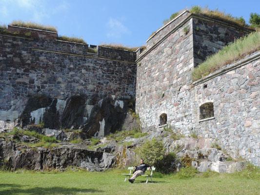 War schon eine mächtige Festung...