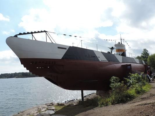 ...sogar mit U-Boot