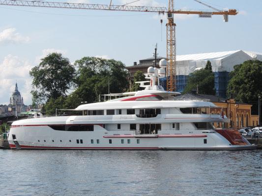 Unsere Yacht...wenn wir reich wären :P