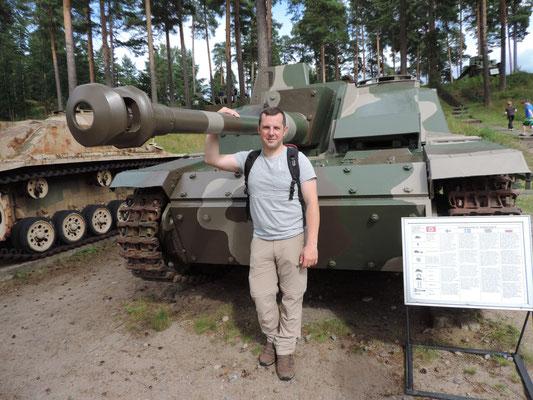 Und noch ein Panzer...