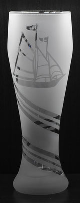 Weizenbierglas Klassisch Motiv 9