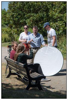 L'equipe des Films de la crique en action