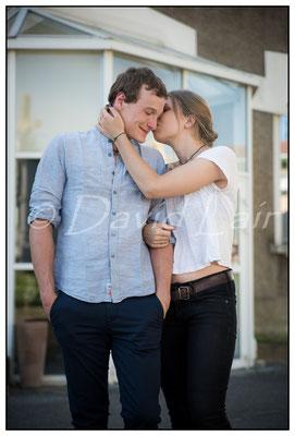 Padrig Vion et Agathe Briand: acteurs