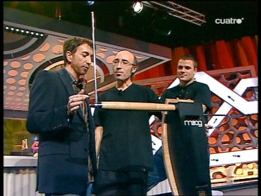 En directo con Pablo Motos y Dani Martín