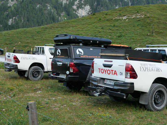 Kunkels Pass Toyota Hilux Revo 2017 2.4 #ProjektBlackwolf wolf78 Alu-cab offroad overland Camping 4x4 AFN Steelbumper frontrunneroutfitters #BornToRoam Winch Rival James Baroud Dachzelt Awining bfgoodrich TJM Sknorkel wolf78-overland.ch