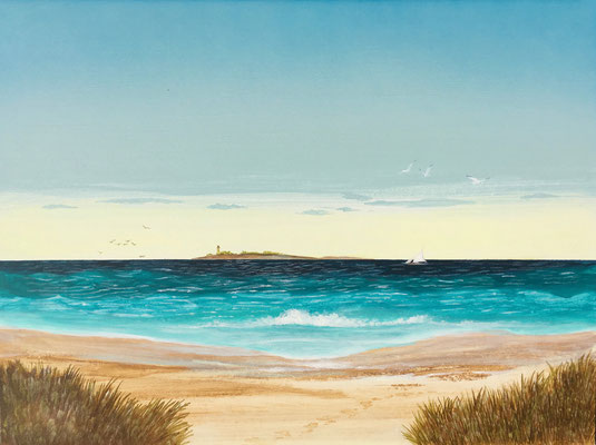 Sea / Acryl on Paintboard 30x40cm