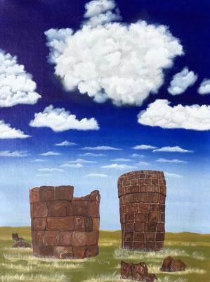 Las Chullpas / Canvas Sheet 36x48cm