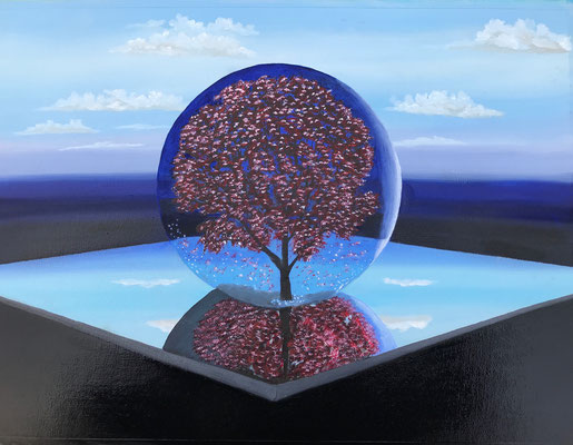 Tree Bowl / Canvas Sheet 36x48cm