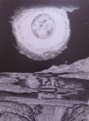 Moonlight / Graphit A3