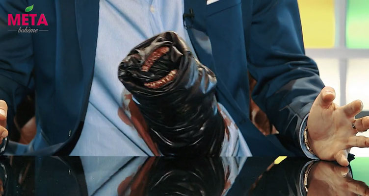 Bandwurm für die erste Folge Metabohème ( Tele5)