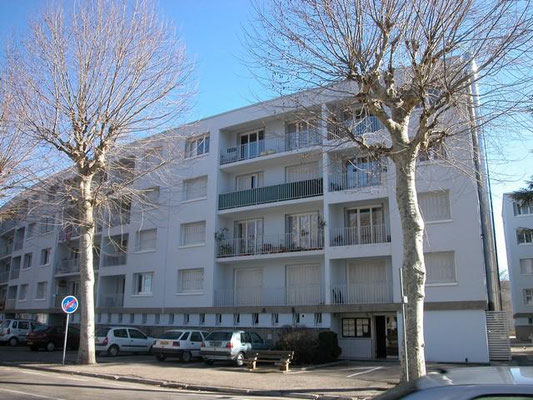 Chantier Mail Courbe - Ravalement facade Isère