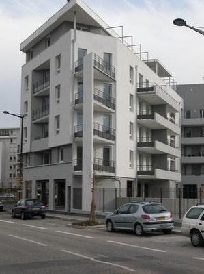 Chantier isolation exterieure logement collectif 38