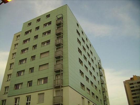 Isolation exterieure  immeuble 38