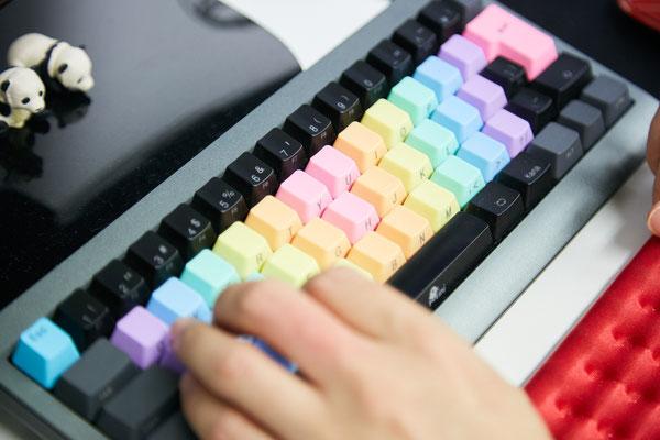 こだわりのキーボード