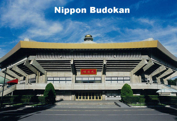 Nippon Budokan, or Martial Arts Hall of Japan is an indoor arena originally built for the judo competition in the 1964 Olympics. Its primary purpose is to host martial arts contests but other events such as the Beatles' concert were held here.