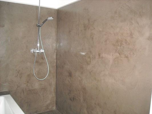 renovation salle de bains beton cire bordeaux plafonds tendus chapes fluides. Black Bedroom Furniture Sets. Home Design Ideas