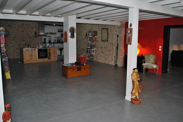 photos sols beton cire bordeaux plafonds tendus chapes fluides. Black Bedroom Furniture Sets. Home Design Ideas