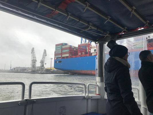 Betriebsausflug nach Hamburg - Hafenrundfahrt