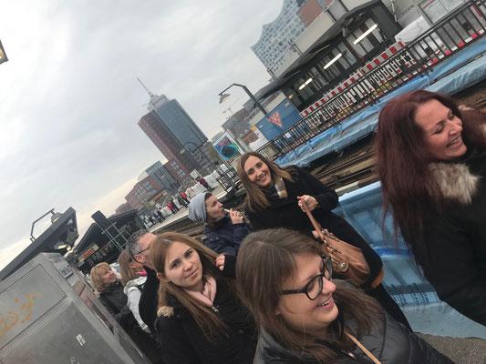 Betriebsausflug nach Hamburg - Hafen