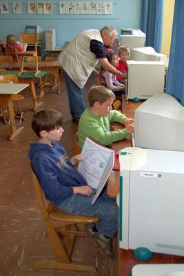 Unterricht am PC