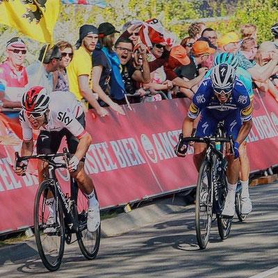 Michal Kwiatkowski (Sky), Julian Alaphilippe (Deceuninck Quickstep) // Amstel Gold Race