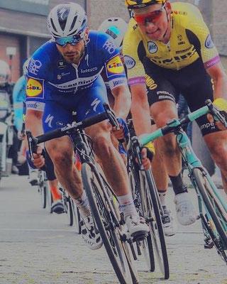 Florian Sénéchal, Mike Teunissen // Paris-Roubaix