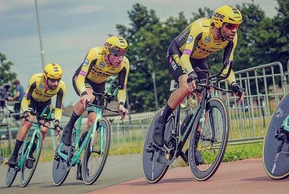 Jos van Emden, Paul Martens // Team Jumbo Visma // Hammer Series Limburg
