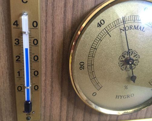 Raum 2 Temperatur 28 °Cnur  mit Ventilator an Raum 1 durch 2 Türen angekoppelt.