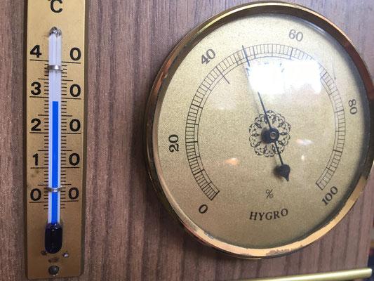 29°C werden gehalten.
