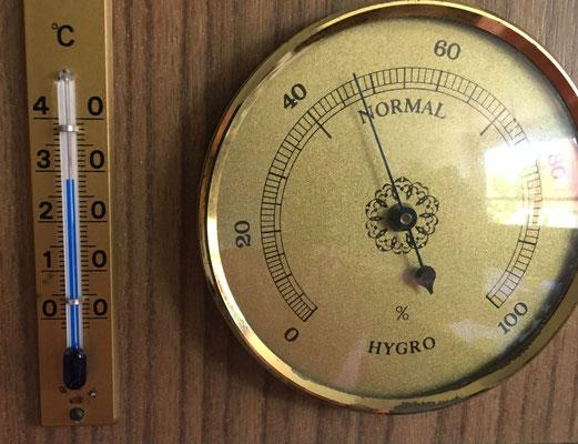 Konstant 28°C