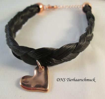 Flechtarmband aus Pferdehaar