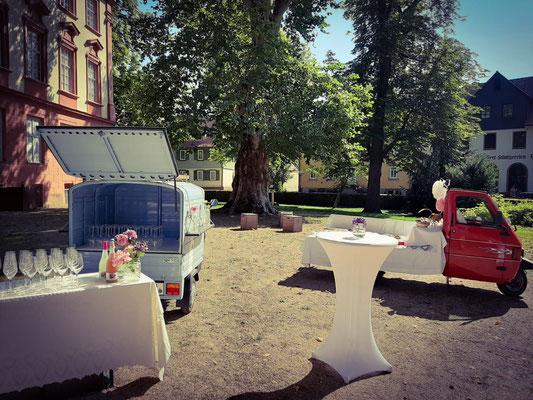 Hochzeit im Schlosshof Erbach