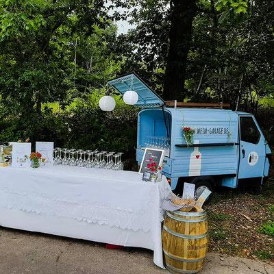 Weinwanderung zum Geburtstag August 2019