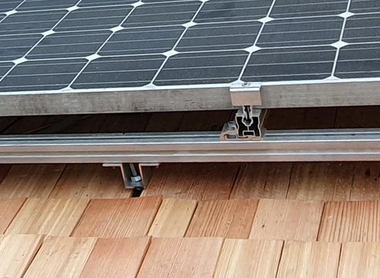 Einbindung der Halter Photovoltaik
