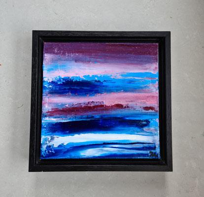 Titel: Setting Free 29-4, 20 x 20 cm, oil on carton, April 2021. Prijs € 245,-