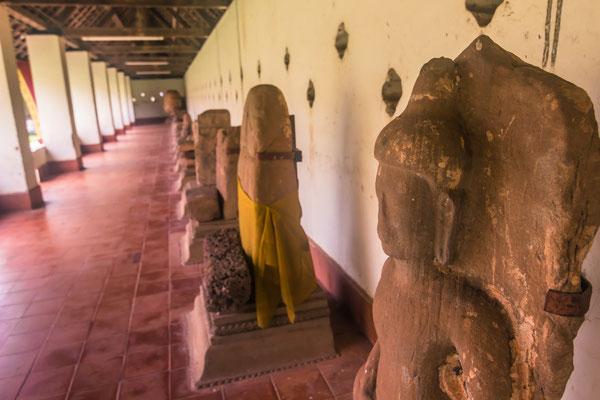 Der Phat That Luang kann auf eine jahrhunderte alte Geschichte zurückblicken und enthält einige der heiligsten Reliquien des ganzen Landes.