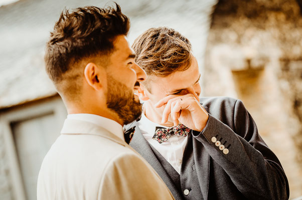 Photos de couple mariage gay