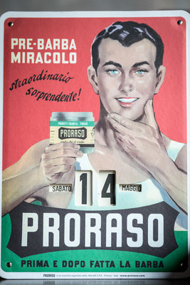 proraso affiche Vintage