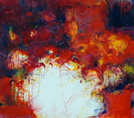 Psychic Space no.11. oil on canvas, 150x170cm, 2006