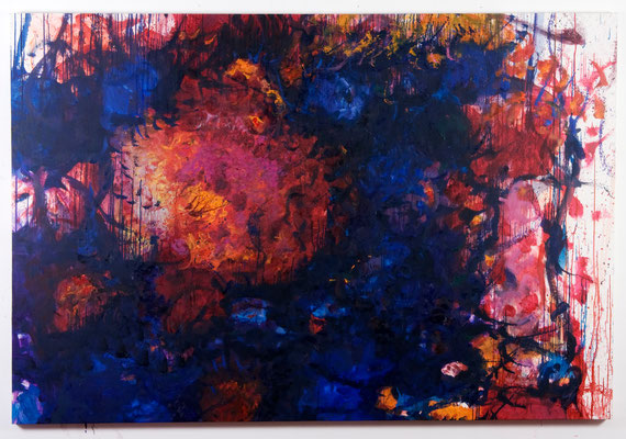 Psychic Space no.12. oil on canvas, 150x220cm, 2007