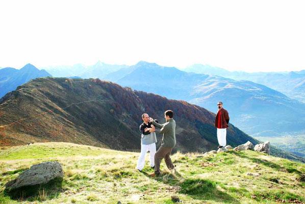 chi sao en montagne (hautacam)