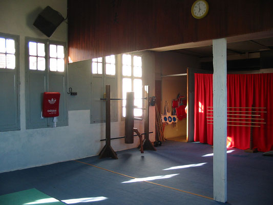 ancienne salle entrainement