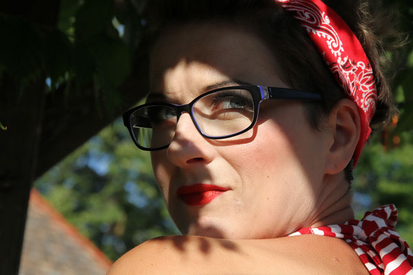 Ramona - Rockabilly Weinkult Vintage Make up © Matthias Karasek