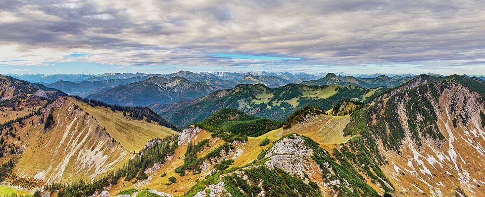 Blick von der Aiplspitze