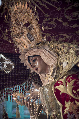 María Santísima de la O Málaga - Cofradía de los Gitanos